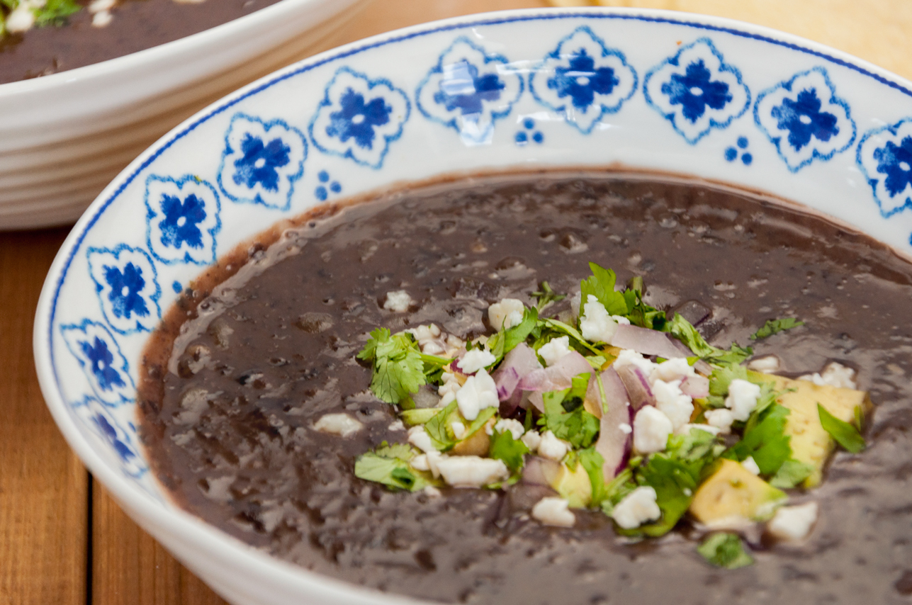 Black Bean Soup | thespiceathome.com