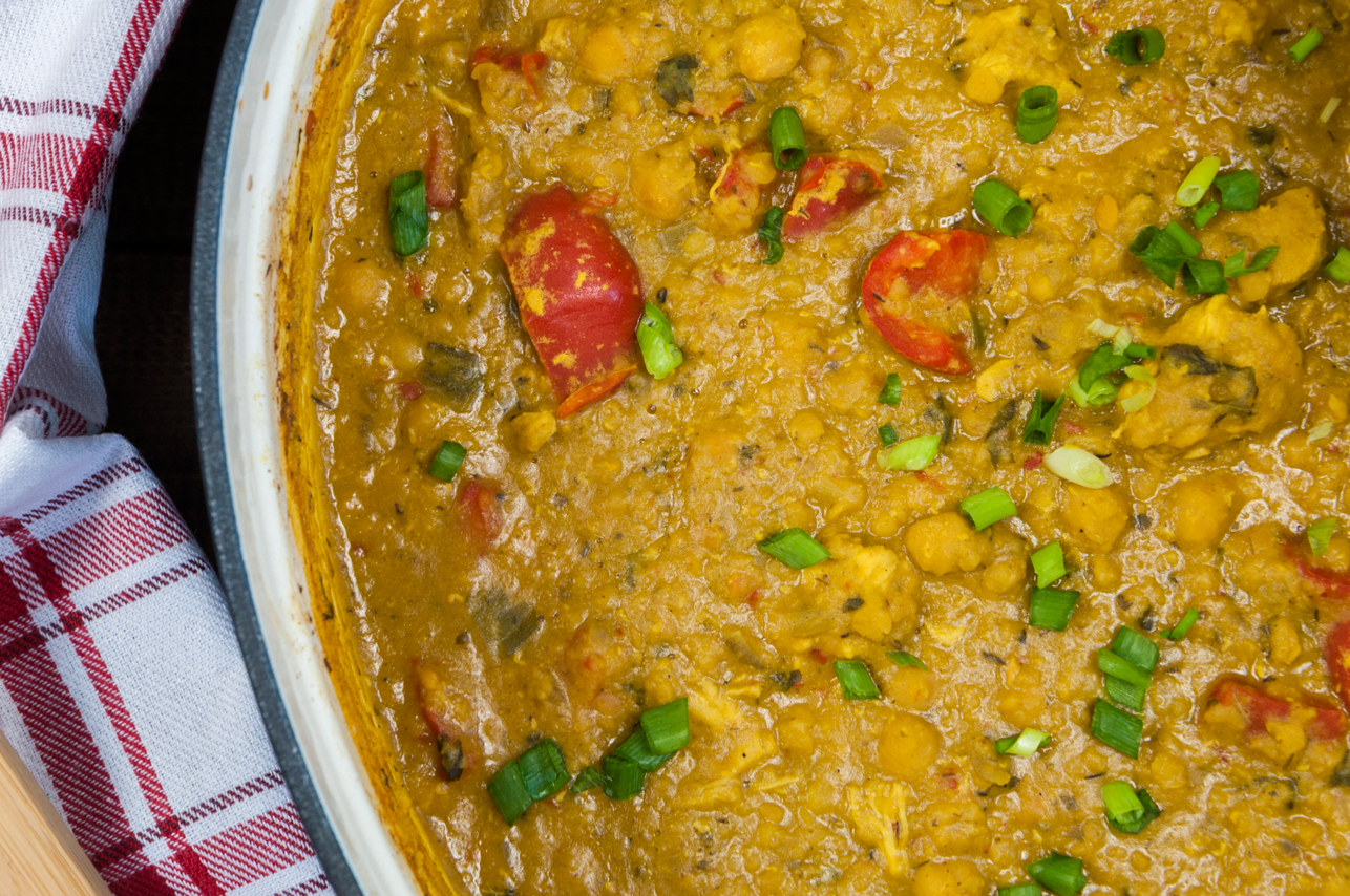 Chicken Curry with Lentils | thespiceathome.com