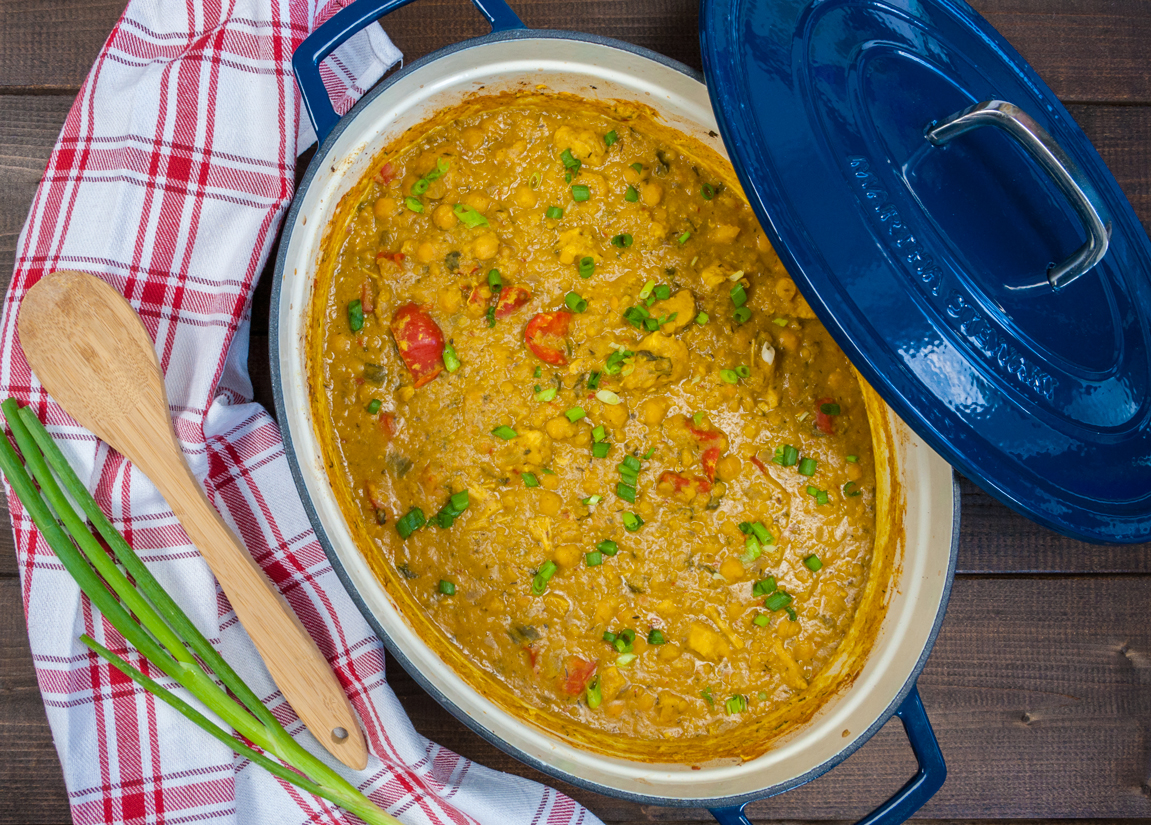 Chicken Curry with Lentils   thespiceathome.com
