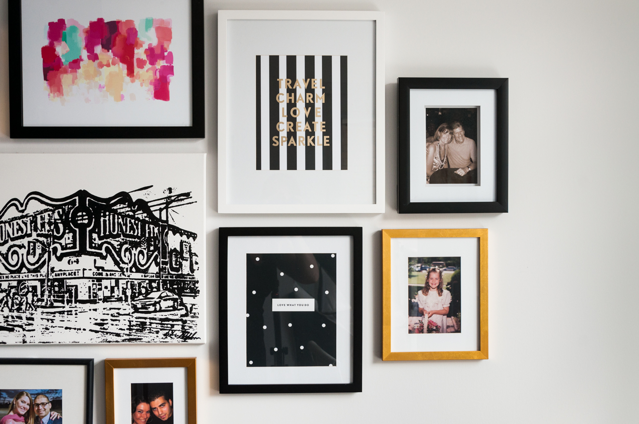 Gallery Wall | thespiceathome.com