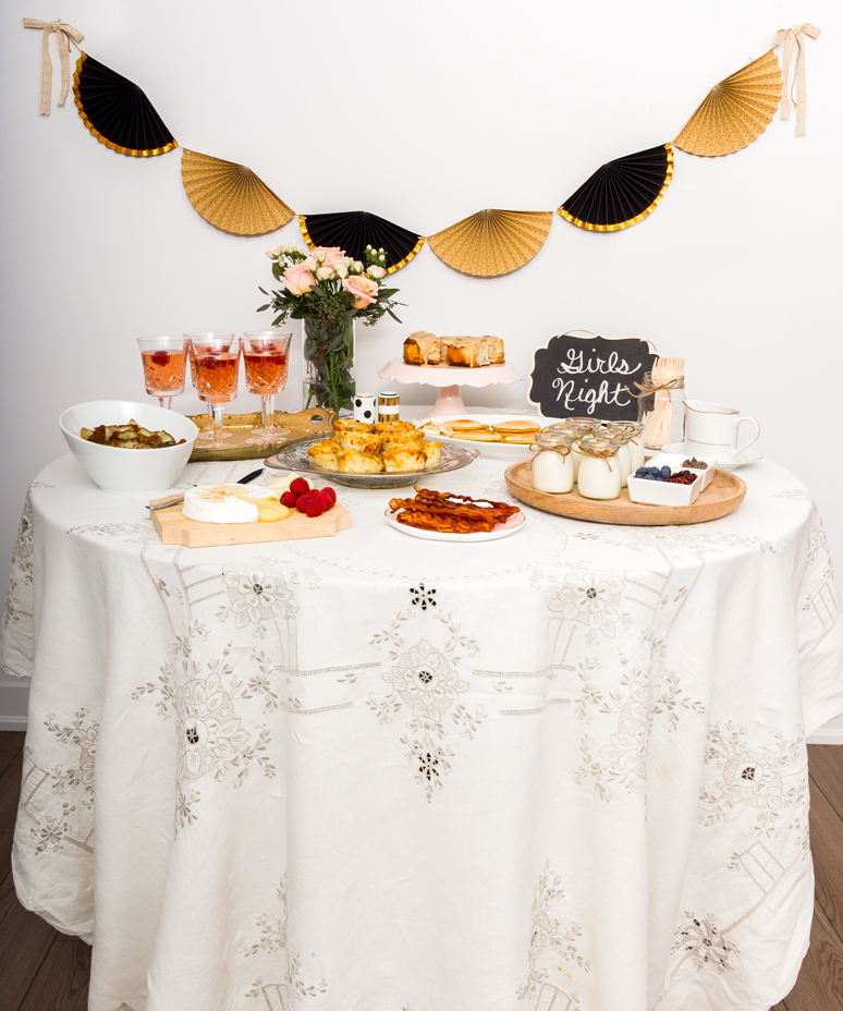 A Rustic Chic Brunch | thespiceathome.com