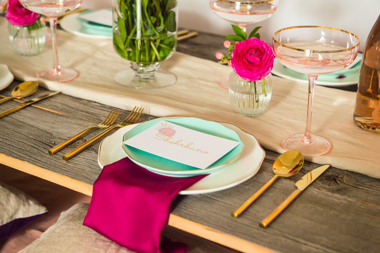 A Spring Table Setting | thespiceathome.com